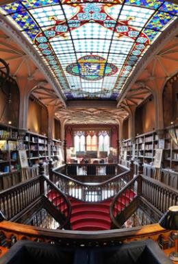 Livraria Lello Interior