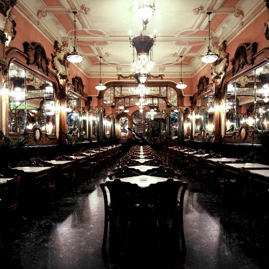 Café Majestic Salão